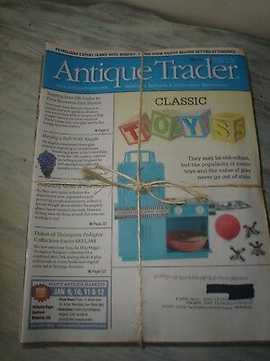 Antique Trader America's Antiques & Collectibles Marketplace 17 Issues May-Dec.