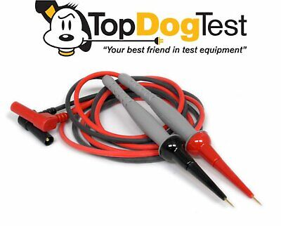 Probe Master 8152 BANANA to Micro-Tip Silicone 1KV CATIII Gold Plated Test Leads