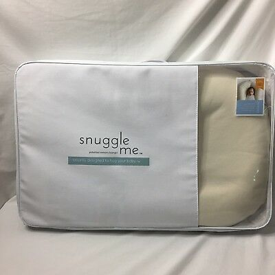 Snuggle Me ORGANIC Sensory Baby Lounger Newborn to 6M+ Mattress Cover & Bag