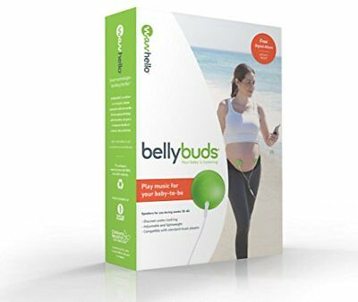 BellyBuds, Baby-Bump Headphones | Prenatal Bellyphones Pregnancy Speaker System
