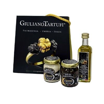 New Italian Gift Bag Of Truffle Sauces And Truffle Oli