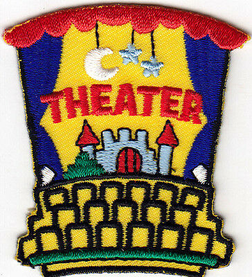 THEATER Iron On Patch Actors Acting Actress Movies