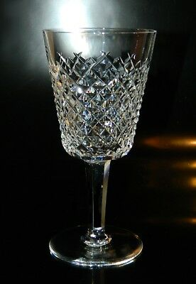 Waterford Crystal ALANA Tall WATER GOBLET(s), EXCELLENT, Free Shipping USA