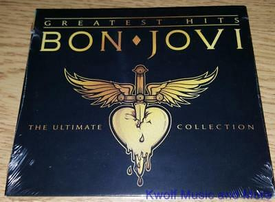 "BON JOVI  ""Greatest Hits - The Ultimate Collection"" Deluxe 2 CD NEW  (CD, 2010)"