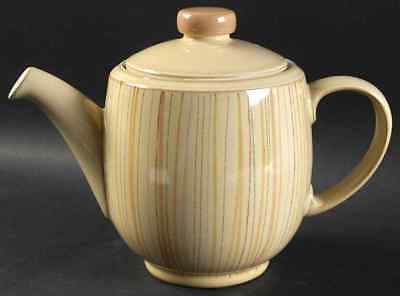 Denby Langley CARAMEL STRIPES Tea Pot (Imperfect) 10056269