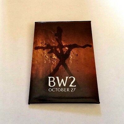 Rare 2000 Blair Witch 2 Movie Promo Button Book Of Shadows Stickman Project Pin