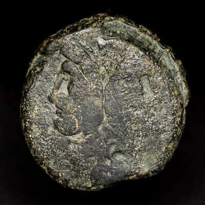 *Lucernae*  Anonymous Janus As  Prow of galley ROMA Rome  169 - 158 B.C.