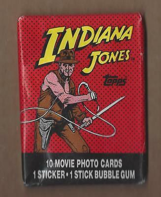 1984 Topps Indiana Jones And The Temple Of Doom Wax Pack