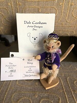 "Deb Canham ""Rat King"" Nutcracker Suite Collection 1903/2000 - Brand New!"