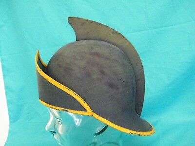 Vintage Odd Fellows Navy Costume Helmet Hat