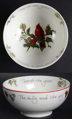 Portmeirion HOLLY CARDINAL Cereal Bowl 9560766