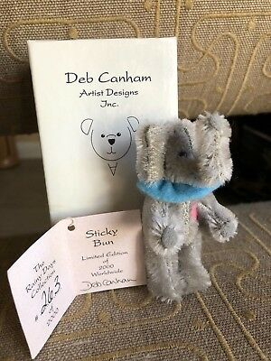 "Deb Canham ""Sticky Bun"" The Rainey Days Collection 263/2000 - Brand New!"