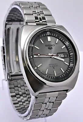 Classic Vintage 1974 Seiko 5 Sports 6119-6023! Inner Rotating Bezel! Usa Seller!