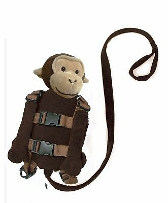 Playette 2 in 1 Harness Buddy Monkey - keep child safe and close