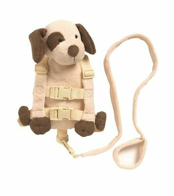 Playette 2 in 1 Harness Buddy Tan Puppy - keep child safe and close