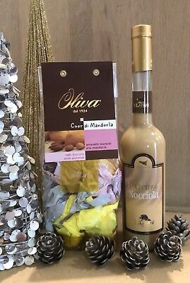 New Italian Hazelnut/almond Liquor Gift Hamper
