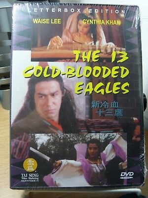 The 13 Cold Blooded Eagles (Hong Kong Matial Art movie) Cynthia Khan, Waise Lee