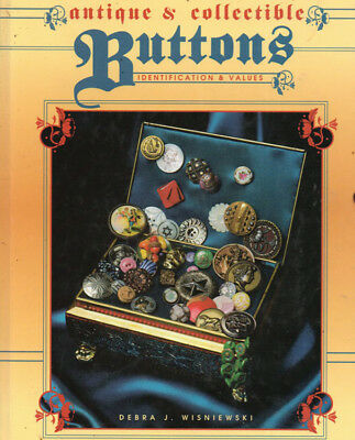 Antique & Collectible Buttons Identification Collectors Guide Debra Wisniewski