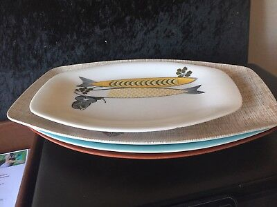 Set Retro Vintage 1970S Bessemer Serving Platters