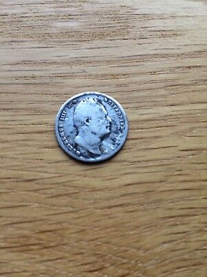 1834 Sixpence - William Iv British Silver Coin