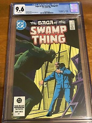 CGC 9.6 Swamp Thing White Pages WPC