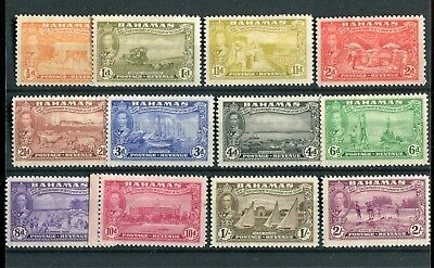 Bahamas KGVI 1948 Eleuthera short set to 2s SG178/89 mint hinged