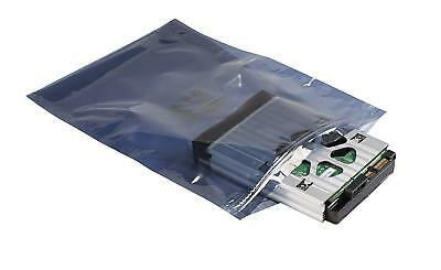 """Anti-Static Bag, Silver, 18"""" x 24"""" (Large), Pack of 4, Zip Lock Seal, 4mil Thick"""