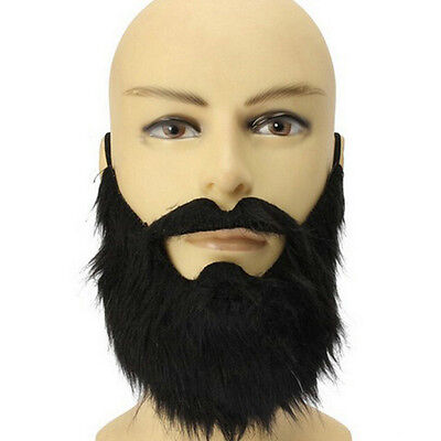 Creative Mustache Halloween Cosplay Facial Beard Costume Fake Mustachio Props