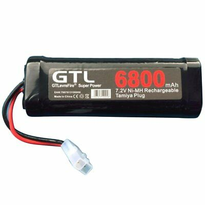 6800mAh 7.2V NiMh Battery Rechargeable Battery for RC Helicopter Boat Ca#4