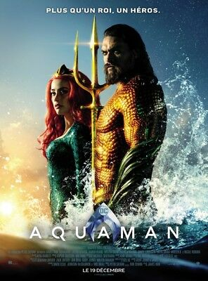 Aquaman Def - Affiche cinema 40X60 - 120x160 Movie Poster