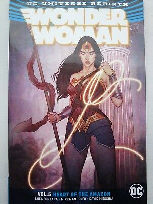 Wonder Woman Vol. 5 Heart Of The Amazon (Rebirth) (DC Universe Rebirth Wonder Wo