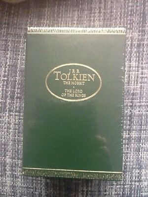 New & Sealed J R R Tolkien The Hobbit & The Lord of The Rings Trilogy Boxed Set