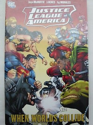 Justice League of America: Worlds Collide v. 6 (Jla) Hardcover – 23 Oct 2009 by
