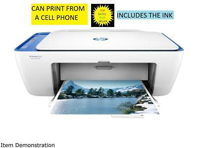 HP DeskJet 2655 (V1N01A) Wireless All-In-One Color Inkjet Printer INK INCLUDED