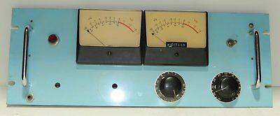 "Professional 19"" Rack With 2 Big VU Meters For Your Western Electric Tube Amp"
