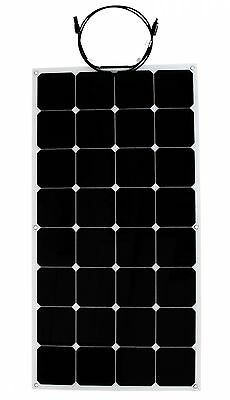 Solar panel flexible 100W Backcontact 12V Semi flex flexibel Monokristallin