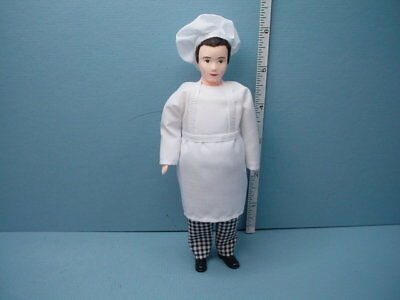 Miniature Chef Doll #MB1011 Falcon Miniatures 1//12th Scale