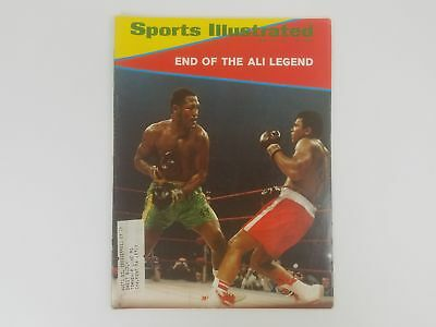 Sports Illustrated Magazine - Muhammad Ali and Joe Frazier  March 1971