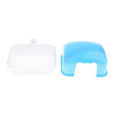Hamster Dwarf Mouse Mini House Cage Mount for Small Pet Sleeping Room Blue