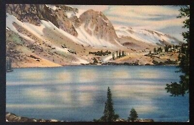 Lake Marie, Wyoming C.1940 Postcard~Medicine Bow National Forest