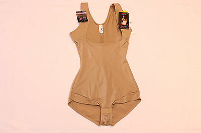 "Maidenform ""wear your own bra"" Shaping Romper / Bodysuit (M) *NWT* nude"