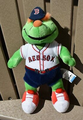 Wally The Green Monster Patch Mlb Boston Red Sox New 3 5 Tall