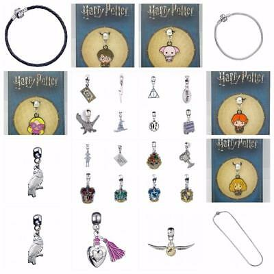 New Official Genuine Harry Potter Slider Charms and Pendants- Great Gifts!