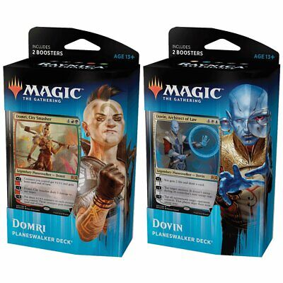 Magic the Gathering MTG Ravnica Allegiance Planeswalker Pair of Decks