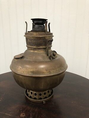 Antique Miller Juno Font/Bracket/Wall Oil Lamp, 1890's Working Condition