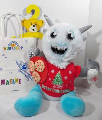 ~Build A Bear Workshops~ Monster Mixers CHILL Yeti Abominable Plush Christmas