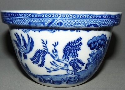 Blue Willow Small Mixing Bowl Blue and White Vintage