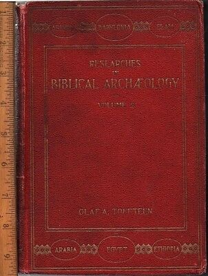 The Historic Exodus {Researches in Biblical Archaeology V2} Toffteen 1909