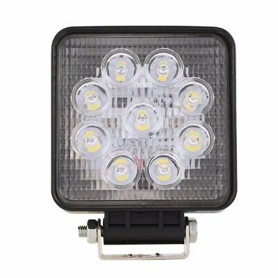 27W 9 x 3W Square LED Work Light Truck Lamp Camping Boat 12V 24V 6000K FLOOD  B6