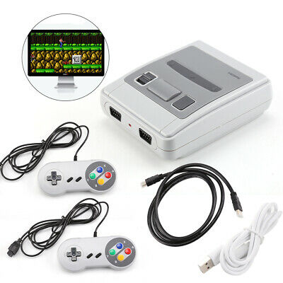 Super HDMI / AV Built-in 621 Retro TV Game Console 8 Bit Classic + 2 Controllers